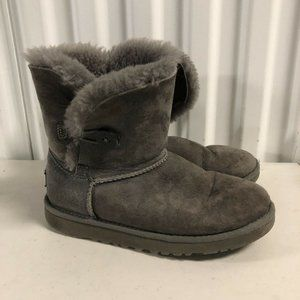 Ugg Australia Women's Bailey Button Boots Gray 4